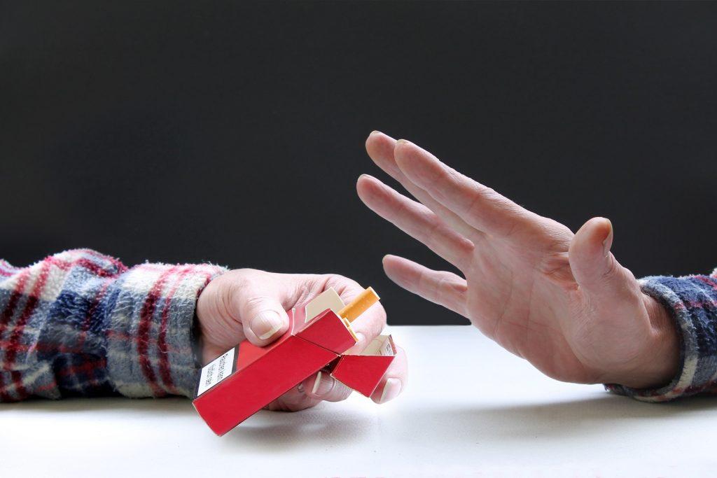 Cutting down smoking