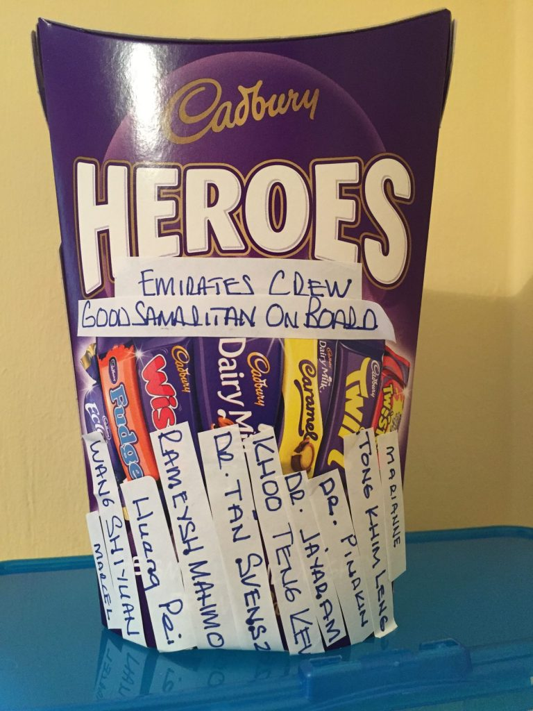 His story starts and ends with chocolate, Cadbury's Heroes!